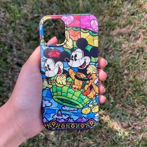 Mickey Mouse Minnie Mouse Pluto Disney iPhone Case